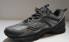 Saucony Grid Excursion TR8 Shoes - Men's 9 - Grey / Black / Blue