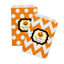 Personalized Halloween Party Goodie Candy Treat Favor Gift Bags