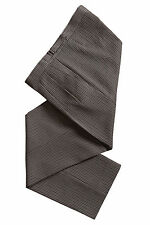 MENS NEW BLACK GREY MASONIC PINSTRIPE MASONS WEDDING SUIT TROUSERS SALE ONLY £20