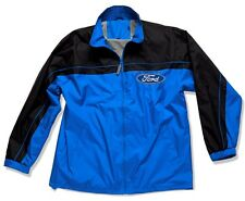 Ford Blue Oval Logo Windbreaker Jacket - by David Carey Originals - Brand New!