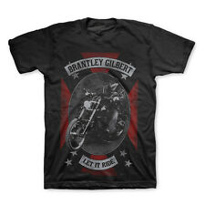 BRANTLEY GILBERT Let It Ride T-Shirt New Licensed Authentic Country Rock S-XXL