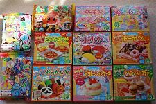 Kracie Popin Cookin Happy Kitchen Sushi Bento Cakes Donuts Pizza WHOLESALE JAPAN