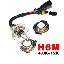 Motorcycle 4 in 1 Socket H6M/H4/P15D25-3/S2 Replacement Bi-Xenon HID Bulbs