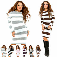 Zeta Ville Women's Long Sleeve Strech Jumper Tunic Dress 419