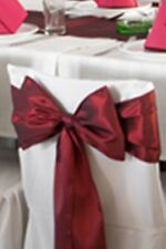 """6""""x108"""" Wedding Dinner Party Banquet Satin Chair Cover Sash Bow - 6 Bows Per Lot"""
