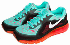 Nike Air Max 2014 Women's Running Shoe Hyper Turq/Punch 621078-303 Sz 6 - 10
