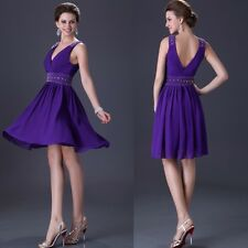New Sexy Bridesmaid Mother of the Bride Evening CocktailProm Party Short Dress