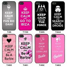 Keep Calm and Carry On Case Cover for Mobile Phone iPod and iPad Etc
