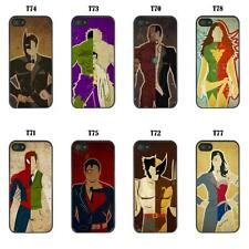 Fun DC Marvel Superhero & Aliases Case Cover for Mobile Phone iPod and iPad Etc