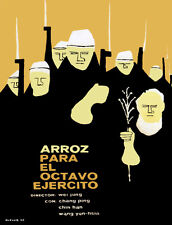 4419.Arroz para el octavo ejercito.Movie.POSTER.Decoration.Fine Graphic Art