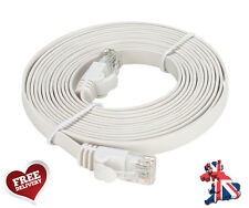 Cat6 Flat Network Ethernet Patch Cable 1m 2m 3m 5m 10m 20m