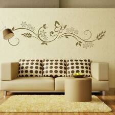 Floral Wall Transfer Large Flower Wall Sticker Butterfly Wall Sticker X02