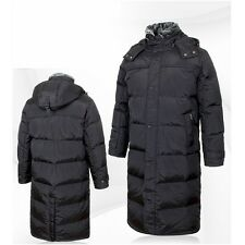 Winter Mens Outer Duck Down Hooded Long Warm Outwear Coat Parka Puffer jacket
