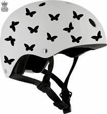 Butterfly Helmet Stickers Vinyl Decals Bike Scooter Snow Ski Butterflies Kids