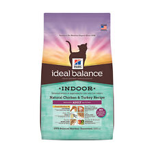 Hill's Ideal Balance Indoor Natural Chicken and Turkey Recipe Adult Dry Cat Food