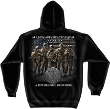 US ARMY- ALL MEN ARE CREATED EQUAL AND THEN THERE ARE BROTHERS- SWEATSHIRT