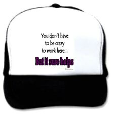 trucker hat cap foam mesh poly-foam don't have be crazy work here but it helps