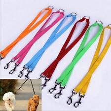 1Pcs New Nylon Double Way Multiple Dual Coupler Dog Pet Walking Leash Lead