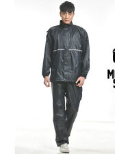 Fashion Womens/mens Thicken Riding Electric Motorcycle Rain Coats Pants Suit