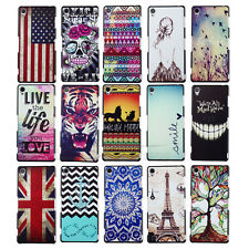 Hot Sale Patterned Series Rear Guard Case Cover For Sony Xperia Z3 L55T / Gaston