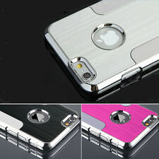 "Magical Metal Brushed Aluminum Hard Back Case For iphone 6 4.7"" / 6 Plus 5.5"""