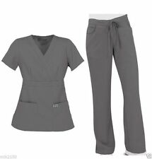 Greys Anatomy Scrubs Set 912 Nickel Top/4153 Pant/4232 Regular,Petite,Tall NWT