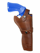 "NEW Barsony Brown Leather Western Style Gun Holster for Colt 6"" Revolvers"
