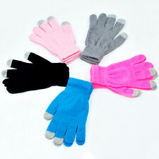 Fashion Winter Unisex Touch Screen Gloves Texting Capacitive Smartphone Knit
