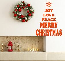 Merry Christmas Snowflake Tree Window Wall Stickers decorations Xmas. Shop,