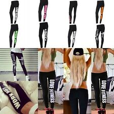 Sexy Winter Women's Harajuku Leggings Work out/Gun/Boy Print Sports Slim Pants