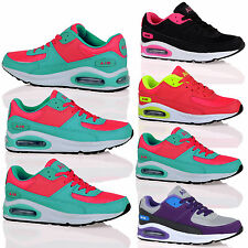 WOMENS TRAINERS LADIES SHOES SNEAKERS SPORT GYM LACE UP JOGGING RUNNING NEW SIZE