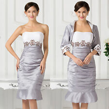 Short Mother Of The Bride Outfits For XMAS GIFT Wedding Evening Occasion Dresses