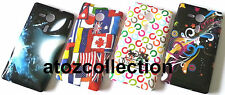 Designer Back Cover Case for Sony HTC + FREE Scratch Guard + FREE Mobile Stand