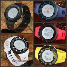 OHSEN LED Digital Alarm Date Silicon Band Quartz Military Sport Wrist Watch Mens