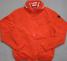 "TOMMY HILFIGER ( Tangerine ) FASHION Lined ""YACHT""Jacket w/Hood Men's - NWT $119"