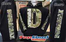 DURAMAX camouflage Black Hoodie  Pullover chevy Truck S-2XL Diesel FRONT & BACK