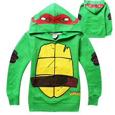 Costume Teenage Mutant Ninja Turtles Baby Kids Boys Tops Hoodies Sportwear 3-8Y