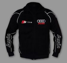 New AUDI S LINE Sport Men Awesome Jacket Embroidery rs quattro EU MADE XS - 7XL