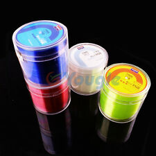 Nylon Durable Monofilament Rock Fishing Line Thread Bulk Spool All Sizes 500 M