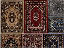 Oriental Floral Border Area Rug Scrolls Persian Carpet - All Sizes