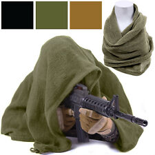"Sniper Veil Netting Scarf Heavyweight Military Tactical Concealment 36"" x 46"""