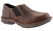 Mens Timberland Pro Gladstone Leather Oxford Shoe Steel Toe (E,W) Brown 86509