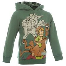 SCOOBY DOO:2013 HOODY,GREEN/KHAKI,2/3,3/4,4/5,5/6,7/8YR,NEW WITH TAGS