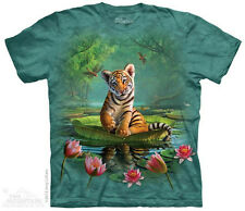Tiger Lily T-Shirt from The Mountain - Sizes Adult S-5X & Child's S-XL