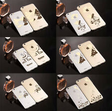 New Gold Plated Design Disney Cartoon Clear Tpu Soft Case For iPhone 6/ 6 Plus