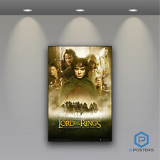 Lord of the Rings Fellowship of Ring Maxi Poster Laminated or Framed 90cm