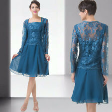 Free Lace Coat mother of the bride/groom dress women formal outfit/suit Dresses