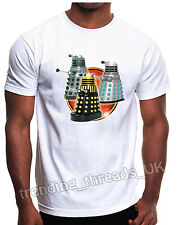 White T-Shirt - The Daleks Doctor Who
