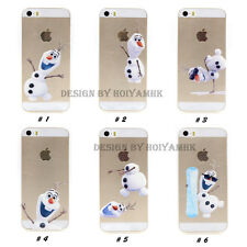 Unique Own Design Disney Frozen Theater Olaf Tpu Soft Case For iPhone 5/ 5S