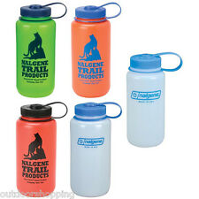 Nalgene Ultralite HDPE Wide Mouth Water Bottle - BPA Free, Dishwasher Safe